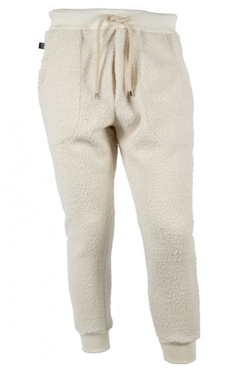 WHITE MEN'S COTTON TROUSERS