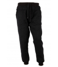 BLACK MEN'S COTTON TROUSERS