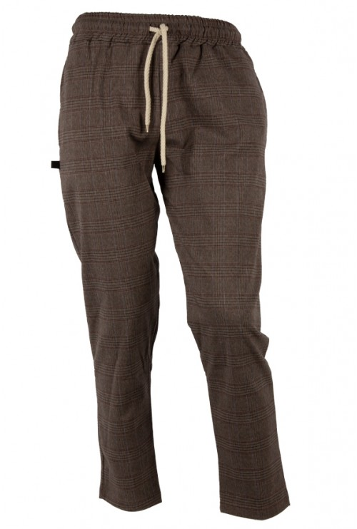 MAN TROUSERS GALLES BROWN