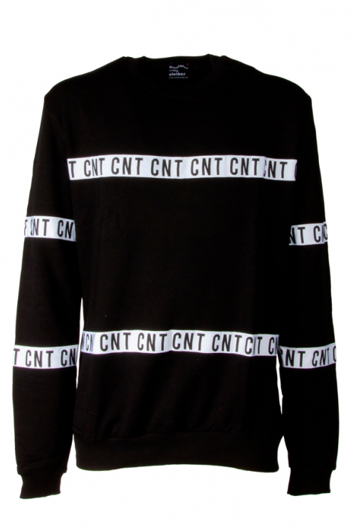 BLACK SWEATSHIRT CNT