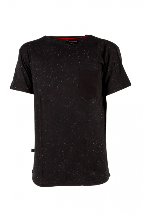 BLACK T-SHIRT NIGHT SKY